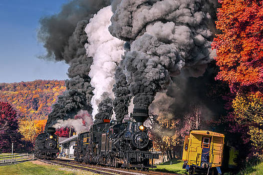 Mary Almond - Fall Comes to Cass Scenic Railroad