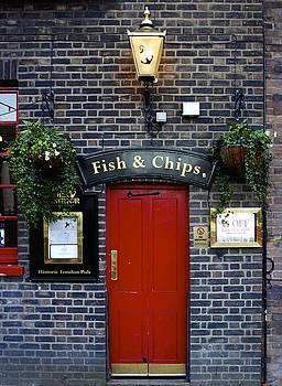 Jennifer Lamanca Kaufman - Fish and Chips in London