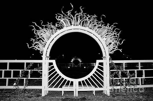 Tim Mulina - Flaming Arch in BW
