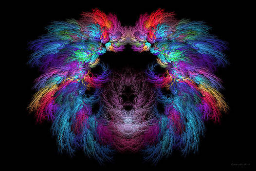 Mike Savad - Fractal - Christ - Angels Wings