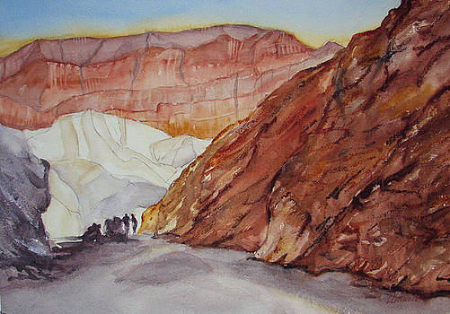 Lynne Bolwell - Golden Canyon and Red Cathedral