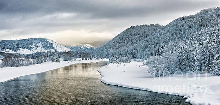 Sandra Bronstein - Grand Teton Winter Morning