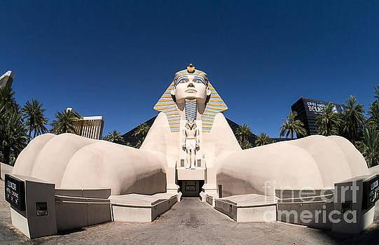 Edward Fielding - Great Sphinx of Giza Luxor Resort Las Vegas