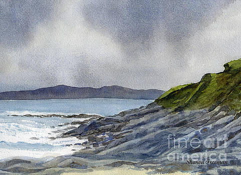 Sharon Freeman - Highland Coast with Rocky Shore