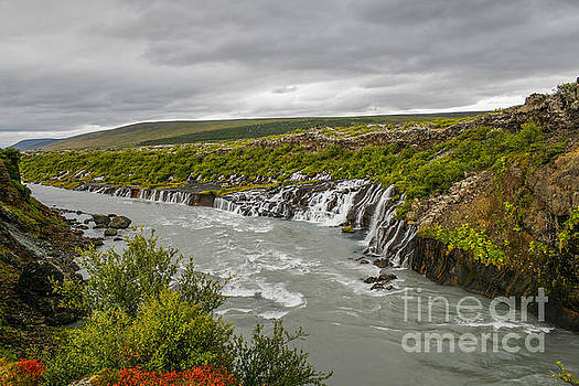 Patricia Hofmeester - Hraunfossar waterfall in Iceland