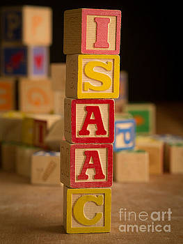 Edward Fielding - ISAAC - Alphabet Blocks