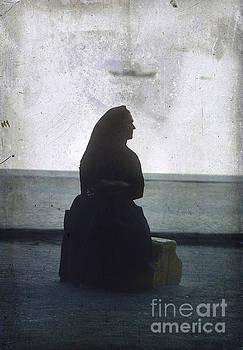 BERNARD JAUBERT - Isolated woman