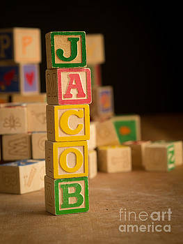 Edward Fielding - JACOB - Alphabet Blocks