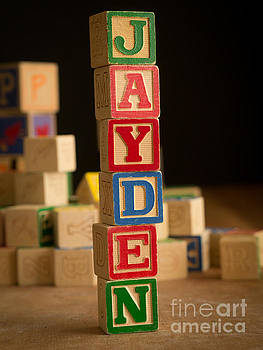Edward Fielding - JAYDEN - Alphabet Blocks