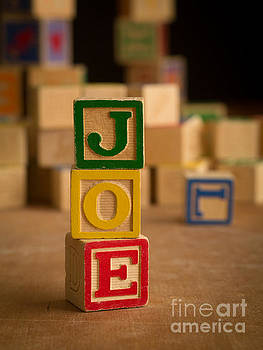 Edward Fielding - JOE - Alphabet Blocks