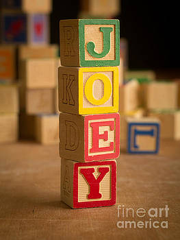 Edward Fielding - JOEY - Alphabet Blocks