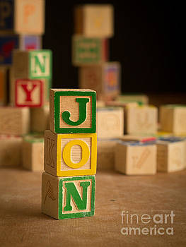 Edward Fielding - JON - Alphabet Blocks