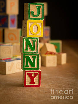 Edward Fielding - JONNY - Alphabet Blocks