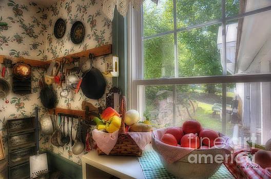 Dan Friend - Kitchen scene by window