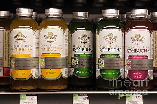 Gunter Nezhoda - Kombucha Tea on store shelf