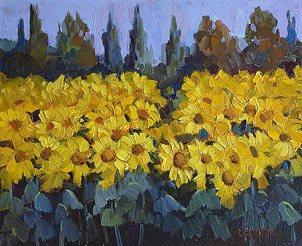 Diane McClary - Les Valayans Sunflowers