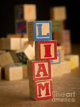 Edward Fielding - LIAM - Alphabet Blocks
