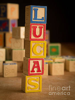 Edward Fielding - LUCAS - Alphabet Blocks