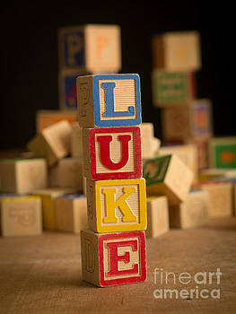 Edward Fielding - LUKE - Alphabet Blocks
