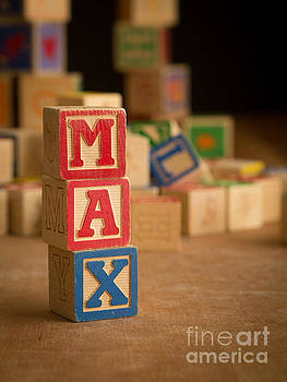 Edward Fielding - MAX - Alphabet Blocks