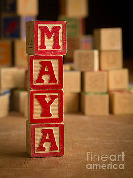 Edward Fielding - MAYA - Alphabet Blocks