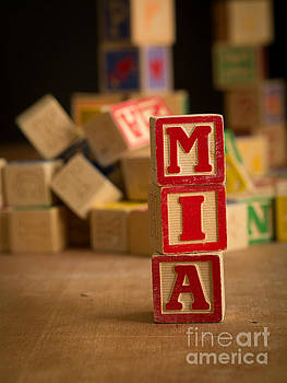 Edward Fielding - MIA - Alphabet Blocks