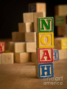 Edward Fielding - NOAH - Alphabet Blocks