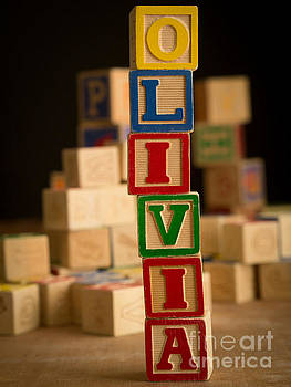 Edward Fielding - OLIVIA - Alphabet Blocks