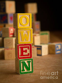 Edward Fielding - OWEN - Alphabet Blocks