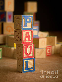 Edward Fielding - PAUL - Alphabet Blocks