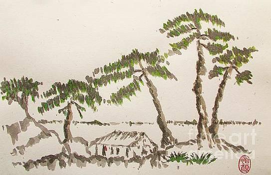 Roberto Prusso - Pine Trees at Odwara Station