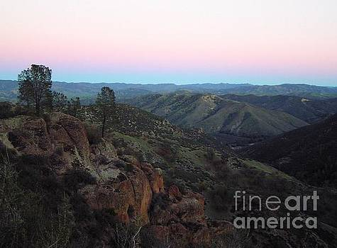 Christine Stack - Pinnacles Sunset