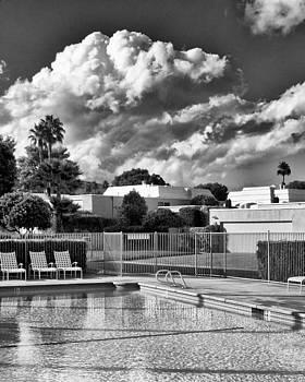 William Dey - PRISTINE POOL BW Marrakesh Palm Springs