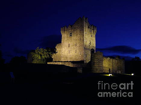 Joe Cashin - Ross Castle at night