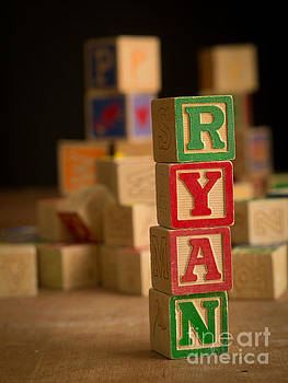Edward Fielding - RYAN - Alphabet Blocks