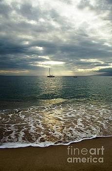 Charmian Vistaunet - Sailboat and Evening Light