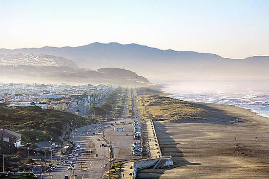 Daniel Furon - San Francisco Morning - The Great Highway Ocean Beach
