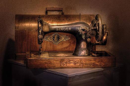 Mike Savad - Sewing Machine  - Singer