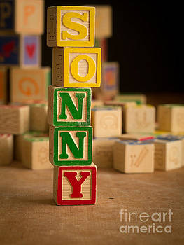 Edward Fielding - SONNY - Alphabet Blocks