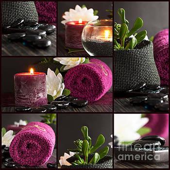 Mythja  Photography - Spa setting collage