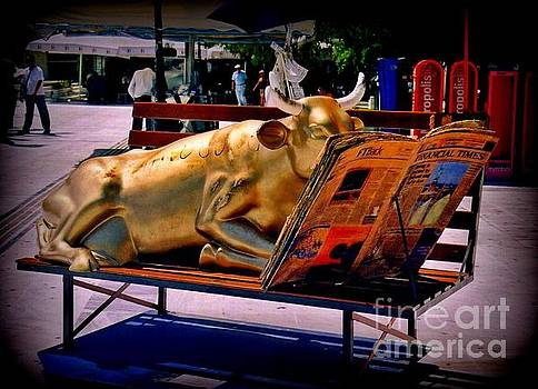 John Malone - The Bull Takes a Break in Greece
