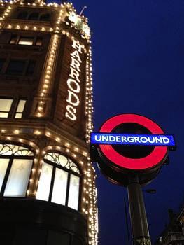 Jennifer Lamanca Kaufman - The Underground and Harrods in London