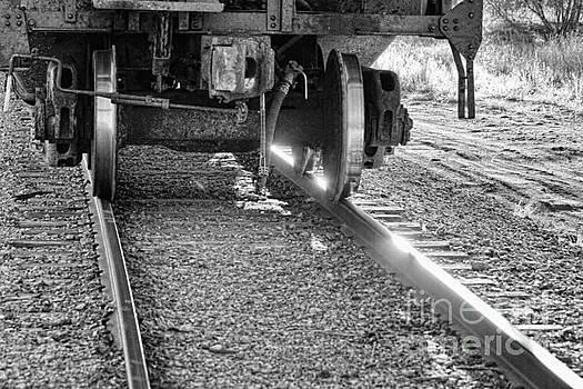 James BO  Insogna - Train Wheels Hitting the Tracks