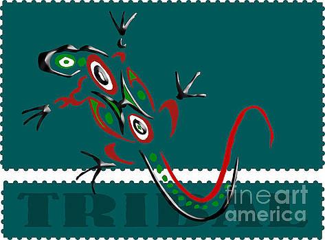 Daryl Macintyre - Tribal Lizard