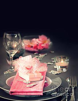 Mythja  Photography - Valentine day romantic table setting