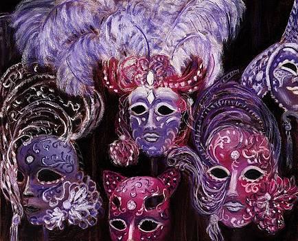Anastasiya Malakhova - Venetian Masks