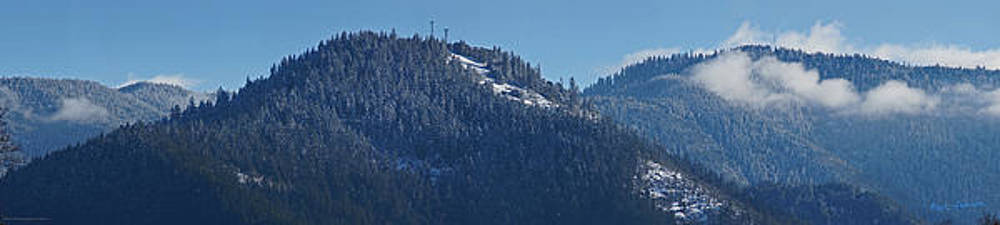 Mick Anderson - Winter and Mt Baldy Panorama