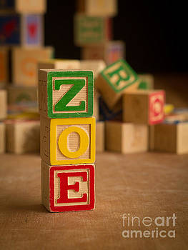 Edward Fielding - ZOE - Alphabet Blocks