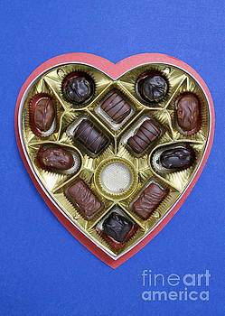 Photo Researchers - Box Of Chocolates, One Missing