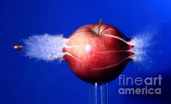 Ted Kinsman - Bullet Hitting An Apple